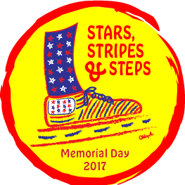 Stars Strips and Steps